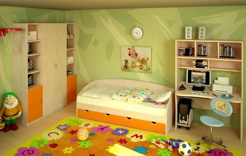 Мебель для детской комнаты изготовление мебели в ростове-на-.